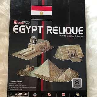 Egypt Relique 3D Puzzle