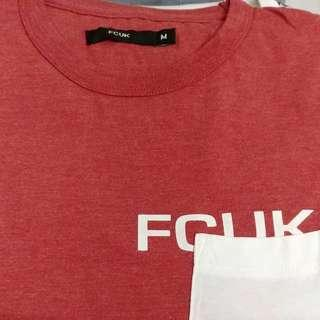 FCUK Tee Size M suitable for female and male from UK!