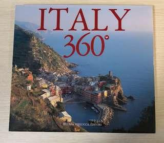 ITALY 360° (120 pages pictorial book)