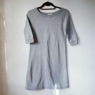 Basic gray dress