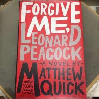 (Fiction) Forgive Me, Leonard Peacock
