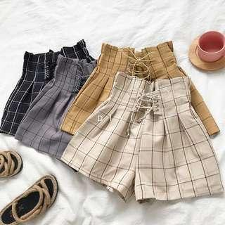 🚚 #830 Tumblr Harajuku Striped Grunge Korean Shorts