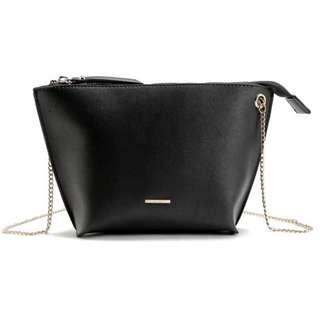 AUTHENTIC BERSHKA  CROSSBODY WITH CHAIN STRAP