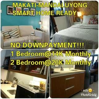 AFFORDABLE SMART HOME CONDO IN COMMONWEALTH AND MAKATI-MANDALUYONG