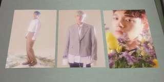 Chen Baekhyun Xiumin Postcard Set