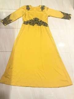 Preloved Jubah Dress