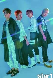 🚚 韓國雜誌 STAR1 2018.06 VOL.74