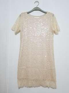 超美 Lace party Dress