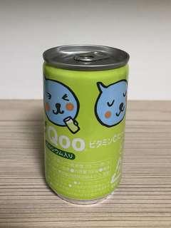 Classic mini and cute Qoo drink can (Japan)