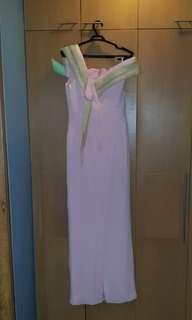 Original Paul Cabral Formal Long Gown