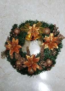 X'mas Decoration - Flower Ring