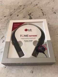 BNIB: LG Tone Infinim Wireless Bluetooth Headset