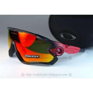 e3ab96bb6c BNIB Oakley Jawbreaker Fade Collection prizm polished ruby + prizm ruby  OO9290-2331 sunglass