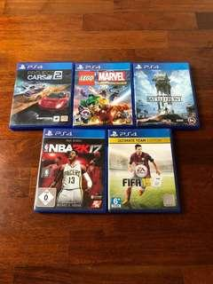Ps4 Games UNDER RM150