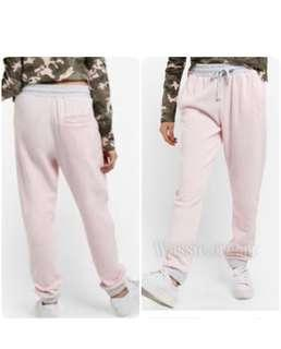 Factorie Tempe pink grey ( trackpants sweatpants joggers)