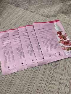 韓國 Mamonde 玫瑰 花萃精華面膜