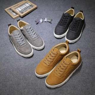 Men's Fashion Style Lace Up Sneakers Shoes
