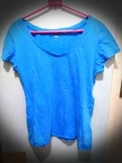 UNIQLO Shirt Biru