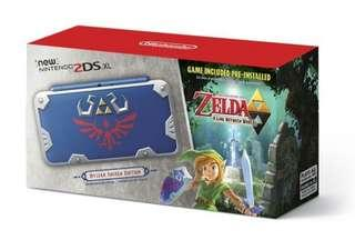 WTB / LF Zelda hylian shield 2ds XL