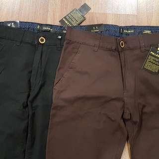 NEW Men Long Pant (Dark brown, Sz 29, 36.5cm)