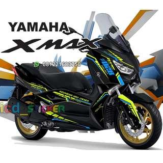 decal xmax black 250 airlow