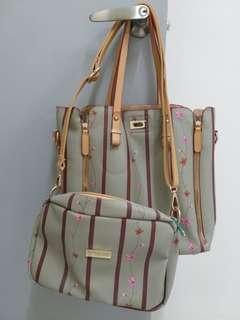 Preloved Bag 2 in 1