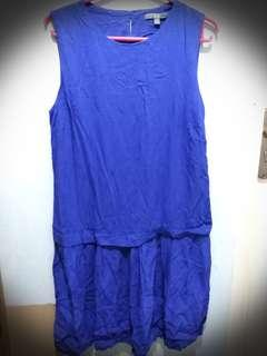 UNIQLO Dress Blue