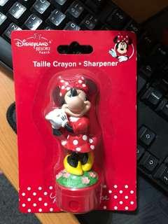Disney Minnie Mouse pencil sharpener 米妮鉛筆刨