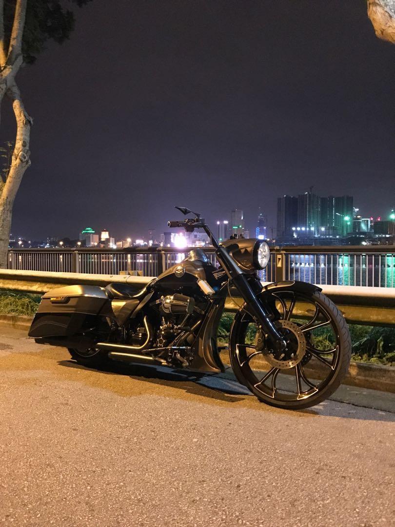 2014 Harley Davidson CVO Road King, Motorbikes, Motorbikes