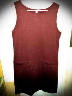 UNIQLO Dress Merah