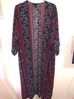 Forever 21 Maxi Kimono Boho Cardigan #Next30