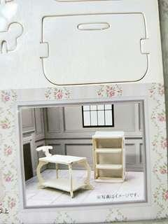 Mini wooden butler trolley and table furniture diy