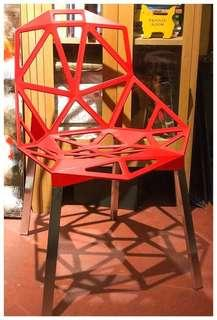 The Magis One Chair by Konstantin Grcic  (made in Italy)