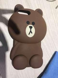 🚚 Line 熊大 iPhone 7+ 手機殼 (正版)