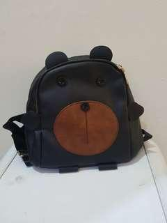 Beary bag black