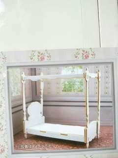 Mini wooden bed furniture diy
