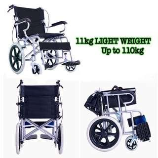 Wheelchair new Black FOLDABLE HANDLE new in stock