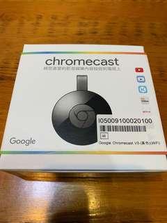 🚚 Google Chromecast V3 黑色 手機投影