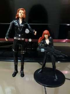 Action Figure Black Widow 2 pcs