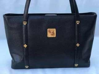 MCM leather tote