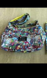 EUC Jujube Tokidoki Sea Amo Hobobe (Complete set with BN Changing Pad) #Next30