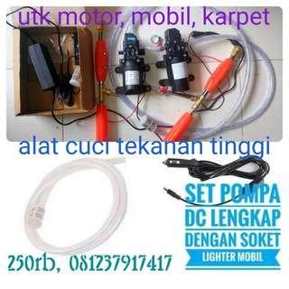 Alat sprayer/steam cuci motor/mobil