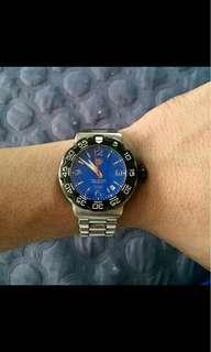 Authentic Tag Heuer Electric Blue Dial