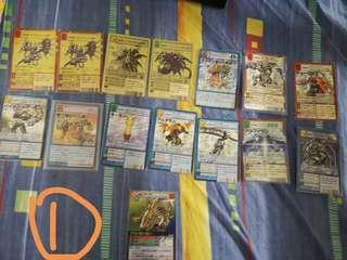 放舊版數碼暴龍卡 digimon card