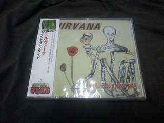 Nirvana incesticide  (sealed) japan press