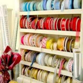 🚚 Assorted Ribbons @ 1 Meter Length CHEAP