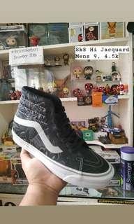 Vans Vault Sk8 Hi Jacquard Black