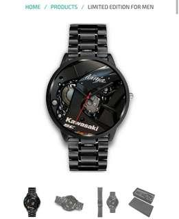 Customized Ninja Kawasaki Men's Watch