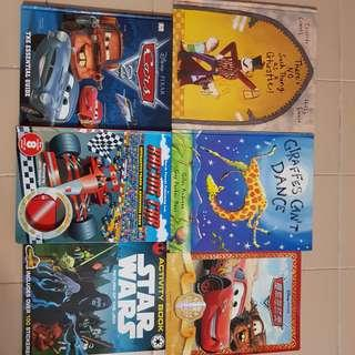 Collection of 6 children books