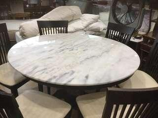 Marble Dining Table( 6 seater)